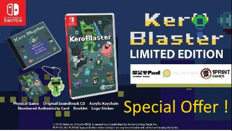 Kero Blaster Limited Edition NSW