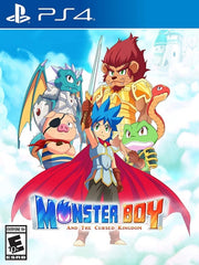 Monster Boy and the Cursed Kingdom P4 front cover
