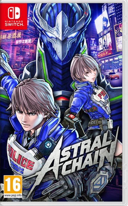 Astral Chain Nintendo Switch Game front cover