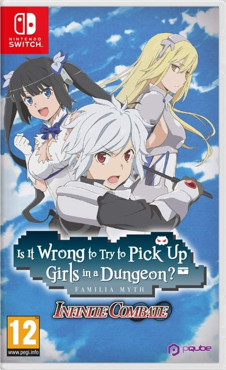 Is It Wrong to Try to Pick Up Girls in a Dungeon? Infinite Combate NSW