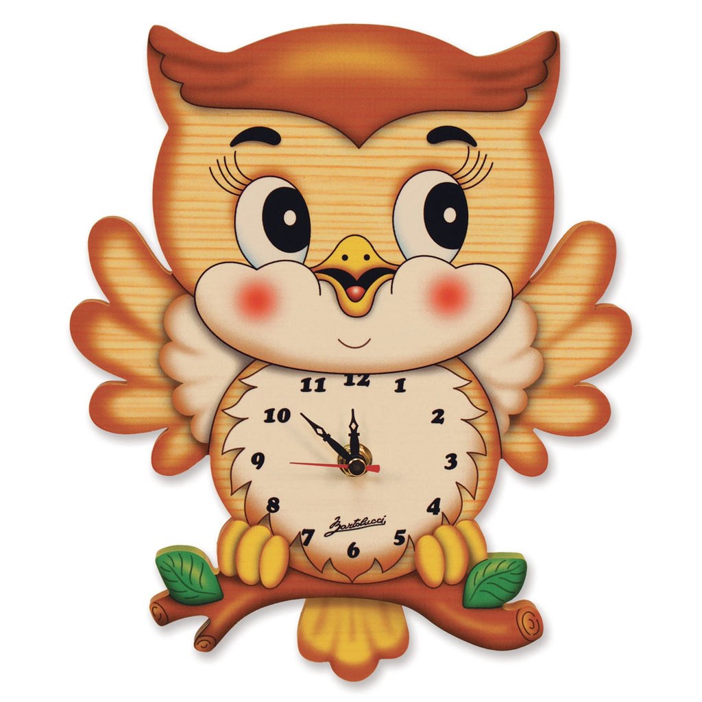 Bartolucci Clock with pendulum Owl