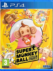 Super Monkey Ball: Banana Blitz HD P4 front page