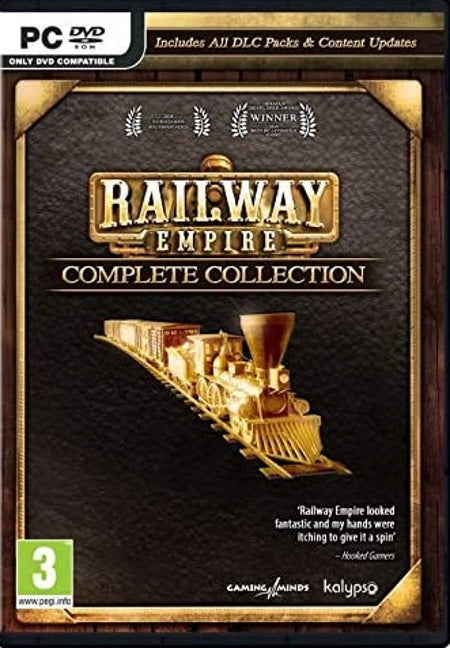Railway Empire Complete Collection CD
