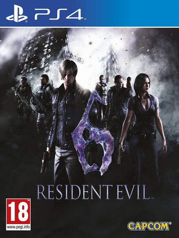 Resident Evil 6  P4 front cover