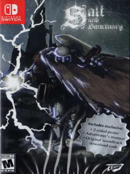 Salt and Sanctuary Drowned Tome Edition NSW front cover