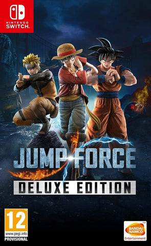 Jump Force Deluxe Edition  NSW front cover