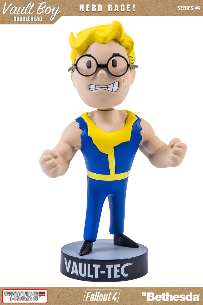 Fallout 4 Vault Boy 111 Bobble Head Series 4 Nerd Rage !