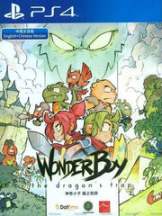 P4 Wonder Boy The Dragon's Trap ( asia release )