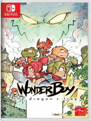 Wonder Boy The Dragon's Trap switch front cover