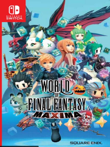 World of Final Fantasy Maxima NSW front page