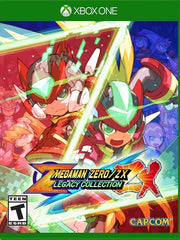 Mega Man Zero Zx Legacy Collection XB1 front cover