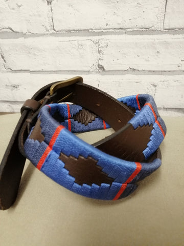 Polo Belts-Navy,Blue and Red stripe