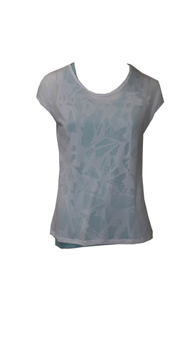 ex M & S layered sports top <br> unit price £2.95