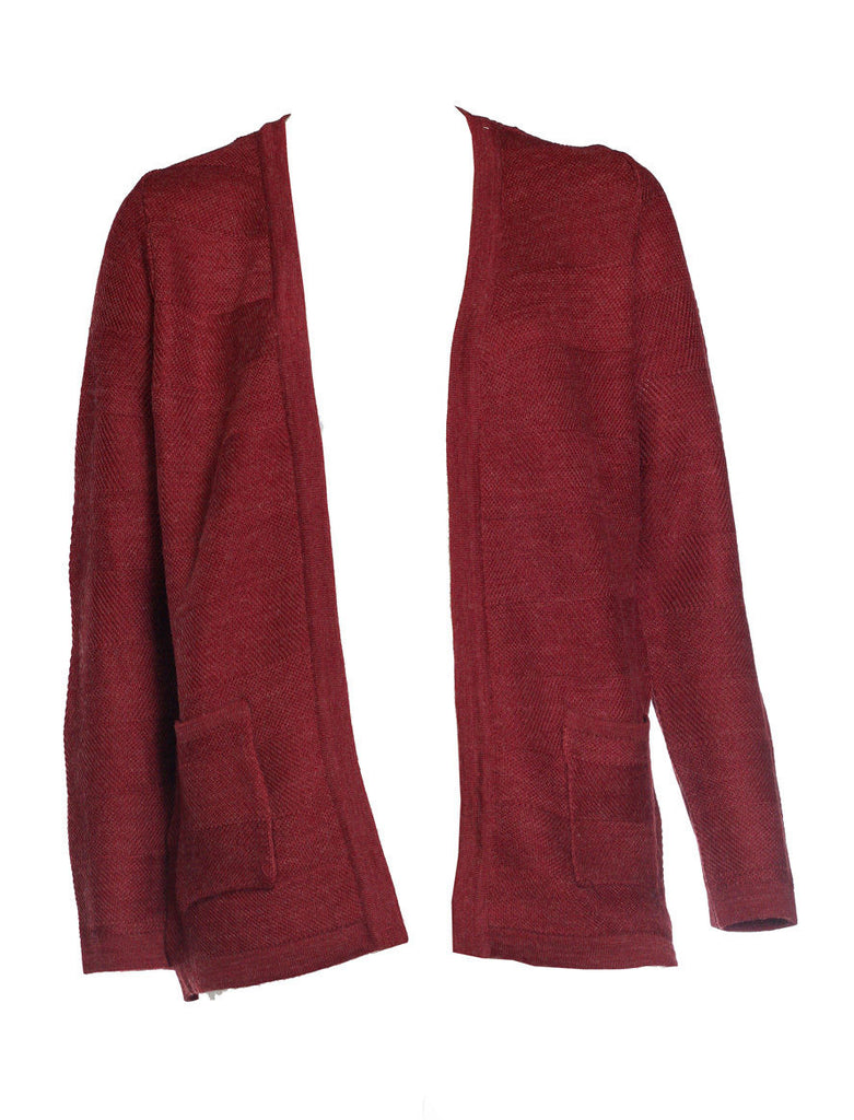Eastex Edge To Edge Rust Cardigan <br> unit price £3.95