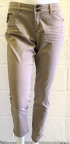 Esprit slim leg sheen finish trouser <br> unit price £3.75