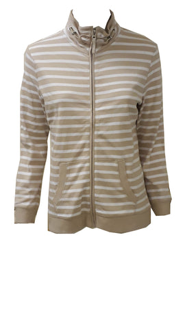 Fabriani stripe zip through <br>unit price £2.25