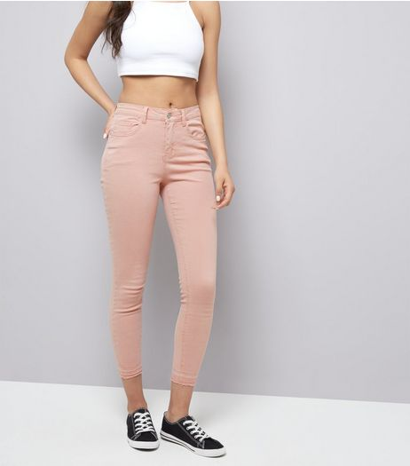 ex New Look Jenna Pink Ankle Grazer Jean <br> unit price £3.95