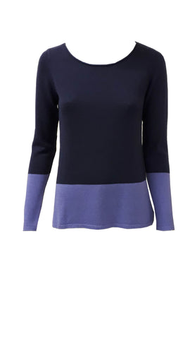 Old navy colour block scoop neck jumper <br>unit price £3.25