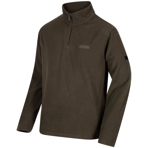 Regatta Elgon II Half Zip Grid Textured Fleece <br> unit price £3.95