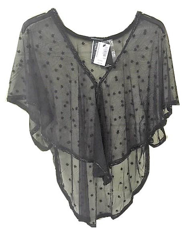 sheer embroidered embellished cover <br> unit price £2.95