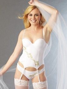 Honeymoon Bustier Lingerie - Lingerie Basement