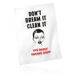 Don't Dream It Clean It Tea Towel