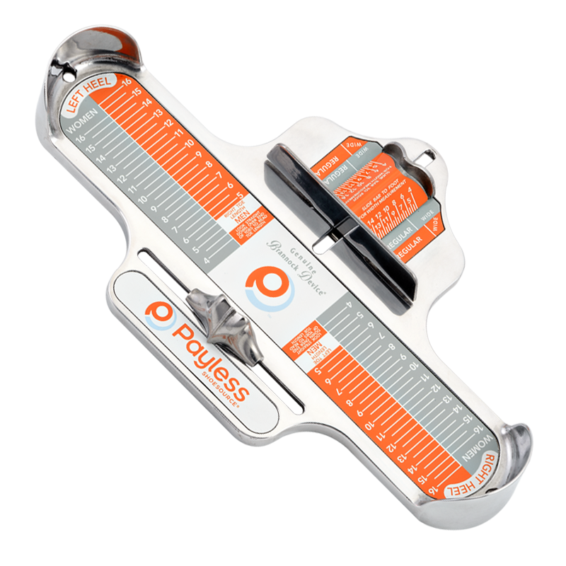 Name Of The Foot Measuring Device : The brannock device company