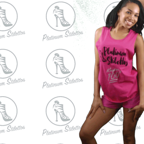 Platinum Stilettos Keepin it 100 Festival Tank - Platinum Stilettos , ladies festival tank, ladies graphic tees, ladies oversized tees,, Platinum Stilettos - Ladies Activewear, Graphic Tees, Sweatshirts, Leggings, gym wear and more