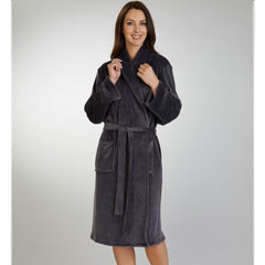 "42"" Long Sleeve Shawl Collar Housecoat"