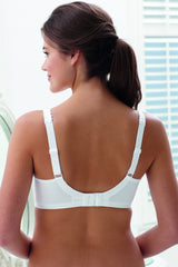 Grace Wirefree Bra (White)