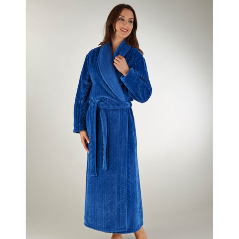 Slenderella Long Sleeve Wrap Housecoat
