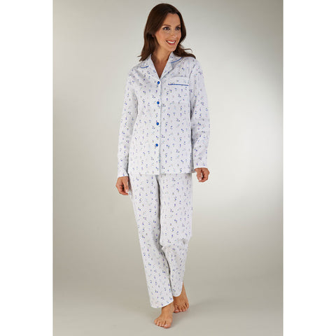 Winceyette Long Sleeved Tailored Pyjama