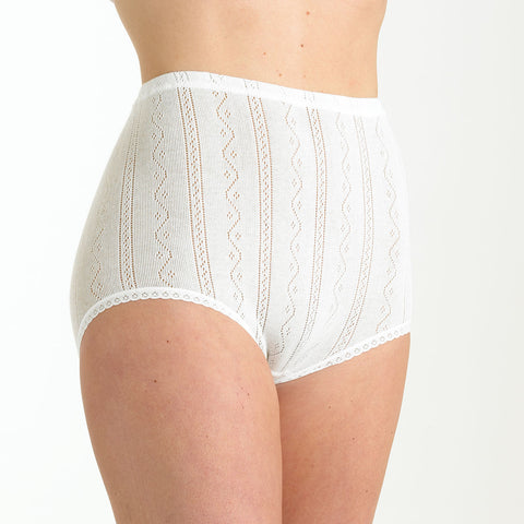 Fancy Knit Thermal Brief