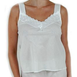Classic Intimates 100% Cotton Lawn Camisole with Built up Shoulders (SL24300)