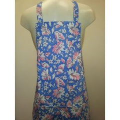 Ladies Full Floral Apron (TA003)