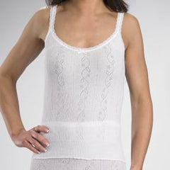 100% Cotton French Neck Camisole