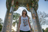 Stop Drop and Yoga Floral Tank