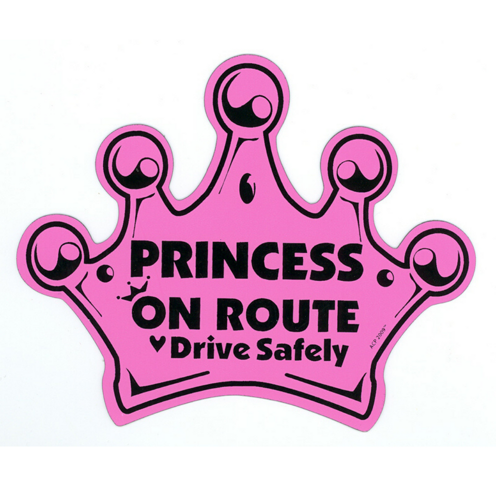 Child on Route Crown Magnet