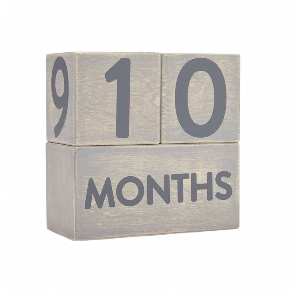 Pearhead Age Block Set - Wooden