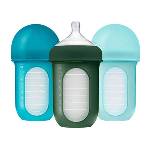 Boon Nursh Silicone Pouch Bottle (3 Pack)