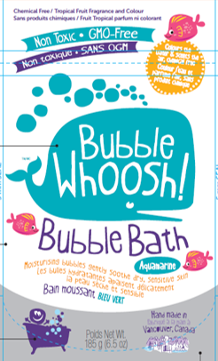Bubble Whoosh Foaming Bath Powder