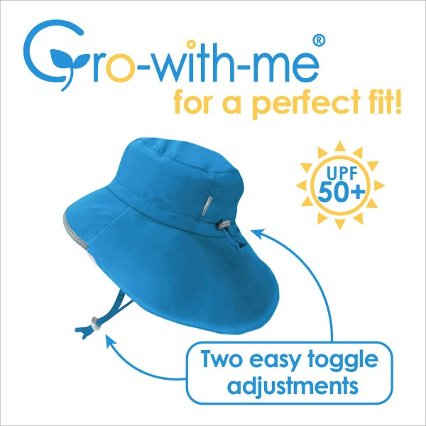 Jan + Jul 50+ UPF Gro-With-Me Adventure Hat