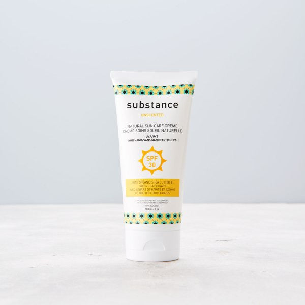 Substance Natural Sun Care Cream Unscented