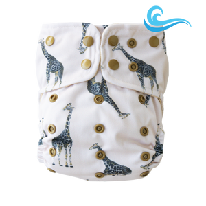 Lighthouse Kids Co. One Size Swim Diaper (6-32lbs)