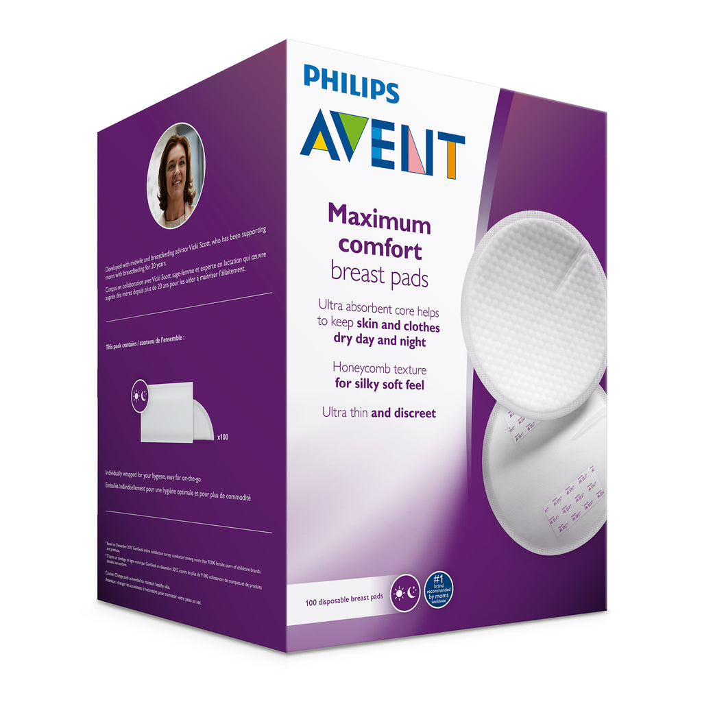 Philips AVENT Max Comfort Disposable Breast Pads