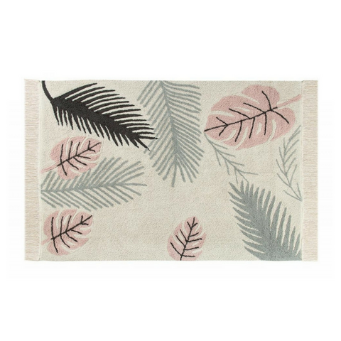 Lorena Canals Washable Rugs Tropical Pink