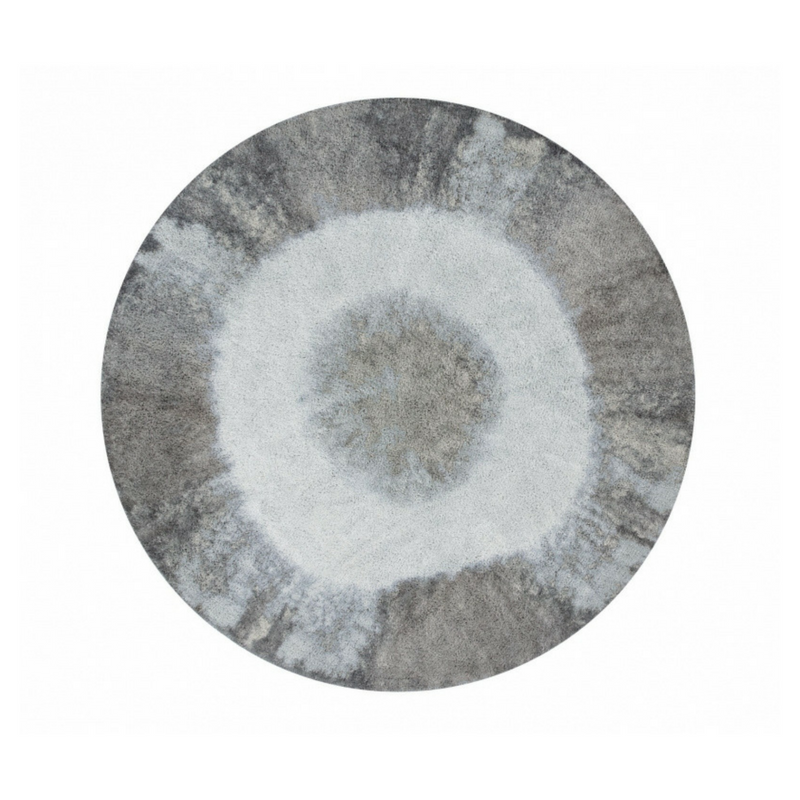 Lorena Canals Washable Rugs Tie Dye - Vintage Blue