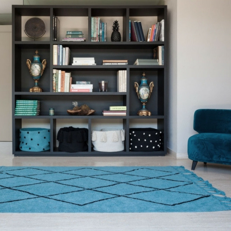Lorena Canals Washable Rugs - Bereber Petroleum