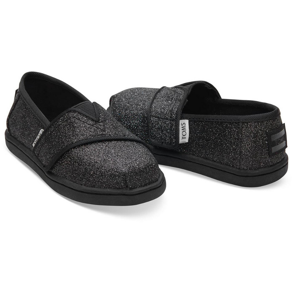 TOMS Shoes Black Glimmer