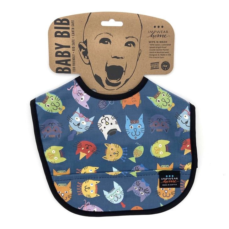 Splash Fabric Jack's Bib
